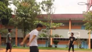 video pembelajaran Teknik bola basket