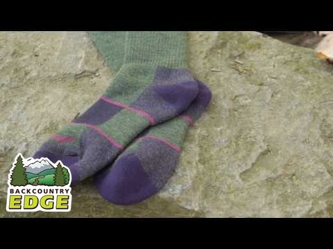 Darn Tough Women's Hike-Trek Merino Wool Boot Full Cushion Sock