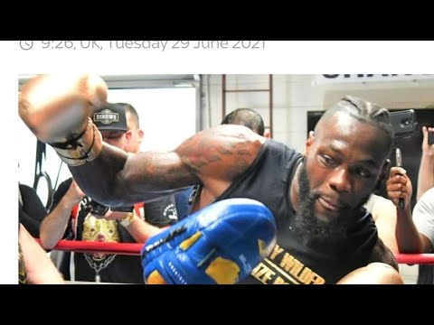 Boxing Wilder Says Furry Will Be Running - By Eric Pangilinan