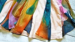 Мои любимые платья из секонд-хенда. Обзор моего гардероба часть 1