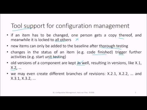 4 Software Engineering Configuration Management