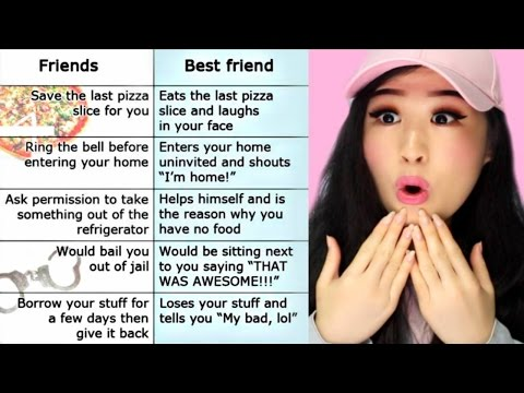 Differences Between A Friend And A Best Friend