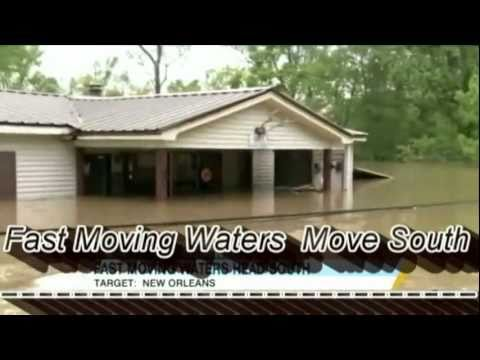 Mississippi River 2011 125,000 cubic feet per second - Aaron Neville - Louisiana 1927 1080HD