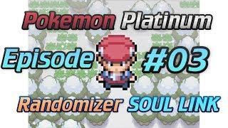 Pokemon Platinum randomizer soul link - I like dogs - Episode 03