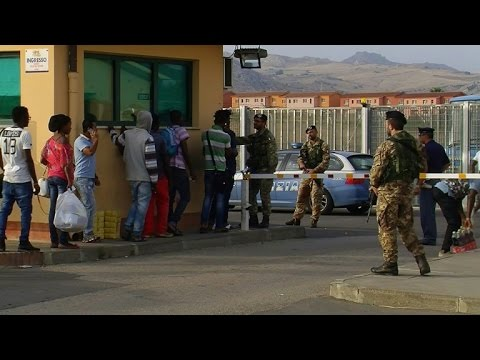 Italy's biggest migrant centre: EU model or refugee wasteland?