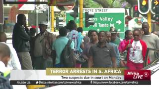 South Africa arrests four terror suspects