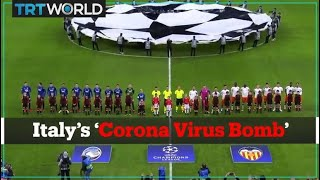 How a football match in Milan impacted the Covid 19 pandemic