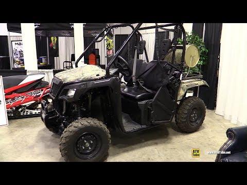 2018 Honda Pioneer 500 Utility ATV - Walkaround - 2017 Toronto Snowmobile ATV Show