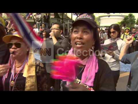 THAILAND: ANTI-GOVERNMENT PROTESTS THURSDAY