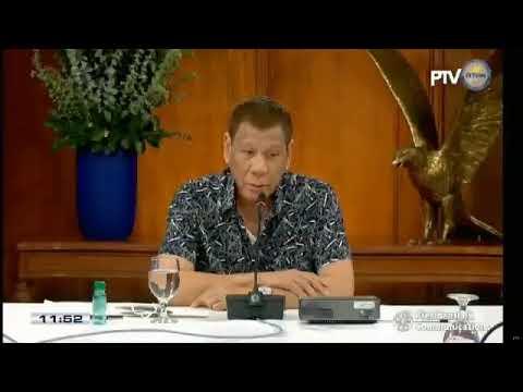 President Rodrigo Duterte addresses the Philippine nation |  Tuesday, June 30