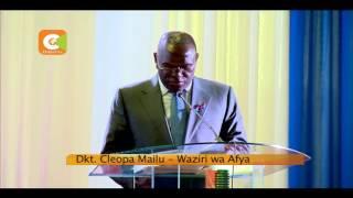 Seneta Mteule Beth Mugo azindua rasmi mpango wa kupima saratani