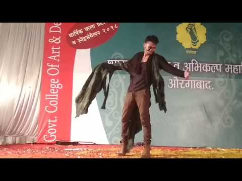 annual function dance at Government college of art and design aurangabad 2018