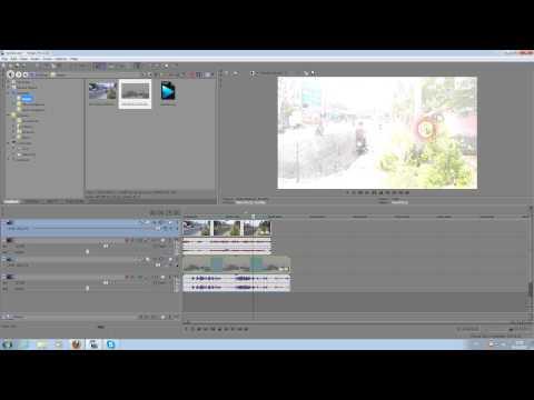видео: sony vegas 12,кнопки видеодорожки (ч.1)