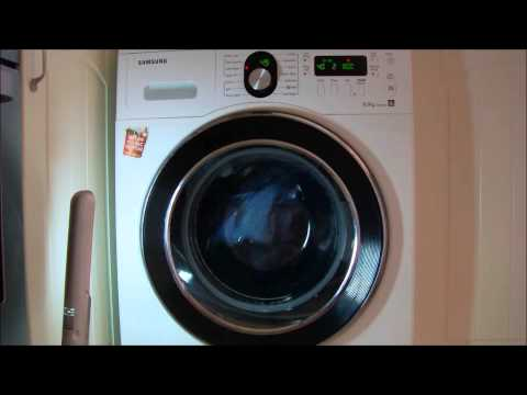 Samsung WF8804RPA - daily wash 40 + prewash + easy iron