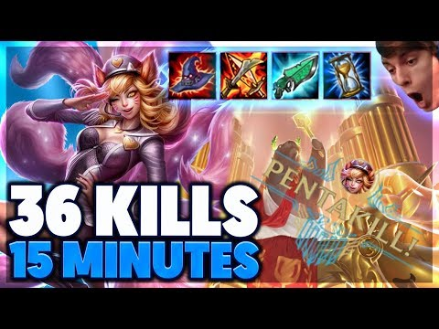 GAME WINNING PENTAKILL | URF AHRI FULL GAMEPLAY - BunnyFuFuu