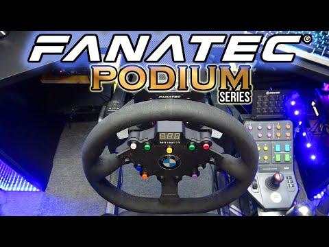 Самый технологичный руль в мире - Fanatec Podium Wheel Base DD2 который вам не нужен!