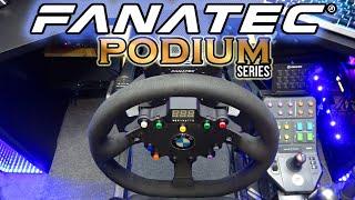 Самый технологичный руль в мире - Fanatec Podium Wheel Base DD2 который вам не нужен