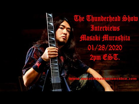 Exclusive Interview with Masaki Murashita On The Thunderhead Show