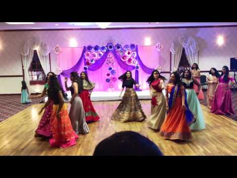Aanika Annaprasana party Girls Hindi Telugu songs dance performance