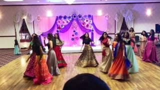 Aanika Annaprasana party Girls Hindi Telugu songs dance performance
