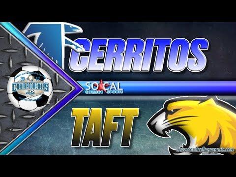 CCCAA Men's Soccer Semifinal: Cerritos v Taft - 12/1 - 10am