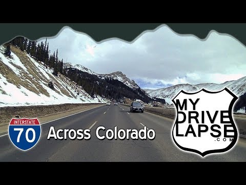 All the way across Colorado on Interstate 70