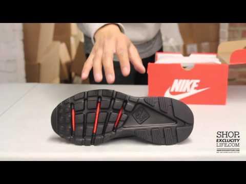 530b48a0933 Nike Huarache Run Ultra Br Black - Black Unboxing Video at Exclucity ...