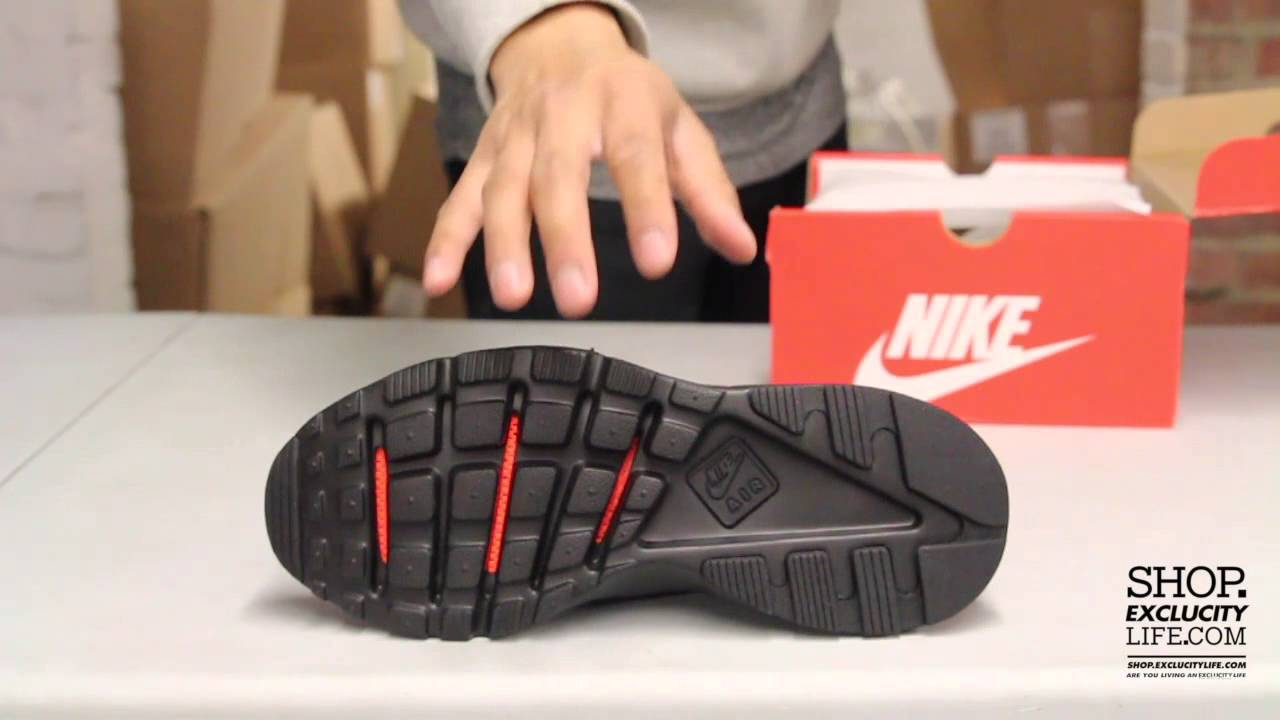 Nike Huarache Run Ultra Br Black - Black Unboxing Video at Exclucity -  YouTube