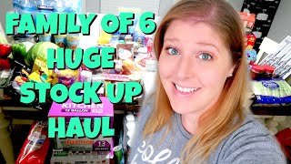 MASSIVE GROCERY HAUL | EMERGENCY STOCK UP