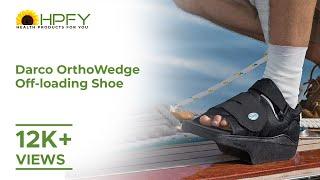 Darco OrthoWedge Off Loading Shoe