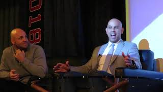 Alex Cora and Steve Pearce talk about the 2018 World Series - part 4