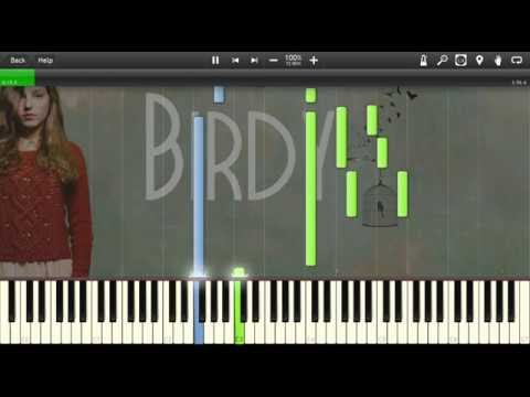 Birdy - People Help the People - Piano tutorial (Synthesia)