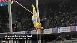 Angelica Bengtsson (SWE) - 4.55m - winning bronze medal!