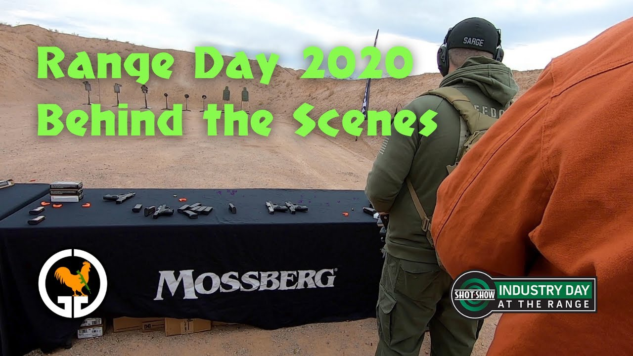 Range Day 2020 Behind The Scenes - Mossberg