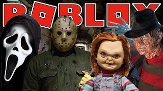 SURVIVE THE HORROR KILLERS | Roblox Adventures - Roblox Gameplay