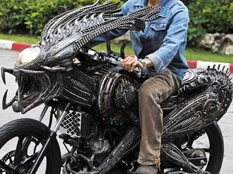 ALIEN Motorcycle??? -- Mind Blow #22