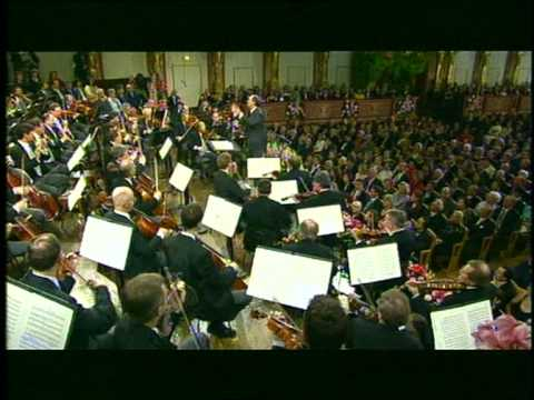 Nikolaus Harnoncourt and Vienna Philharmonic - New Year's Concert 2001