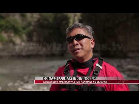 Donald Lu, rafting në Osum - News, Lajme - Vizion Plus