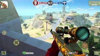 Blitz Brigade PC | Malta Fort Domination | Sniper Class Gameplay