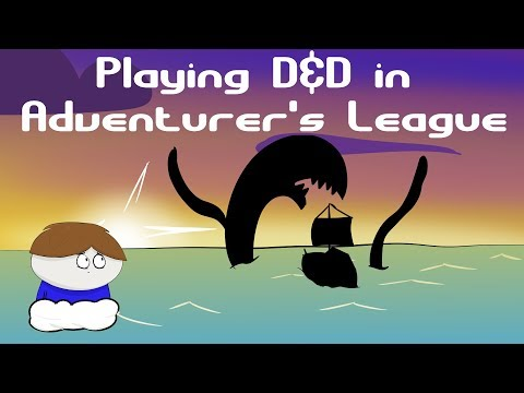 D&D Adventurer's League Tutorial. Introduction To Playing In Public D&D Games.