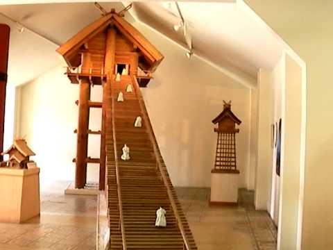 古代出雲大社模型展示館「雲太」 - YouTube
