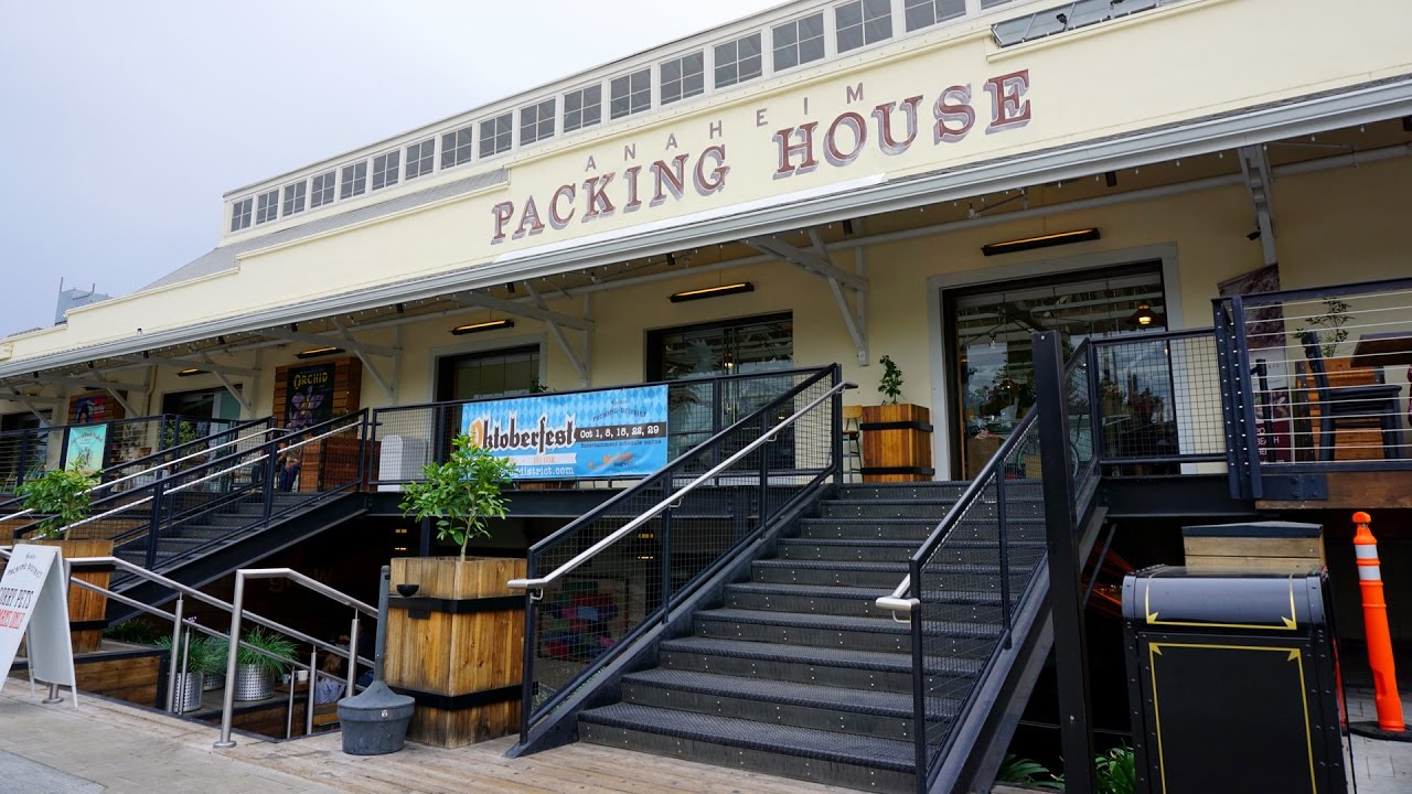 Anaheim Packing House in Anaheim Colony Historic District