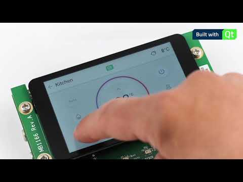 Qt for MCUs – Thermostat demo on STM32F769I-Disco