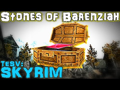 TESV: Skyrim - All 24 Stones of Barenziah - No Stone Unturned Guide (Re-Dub)