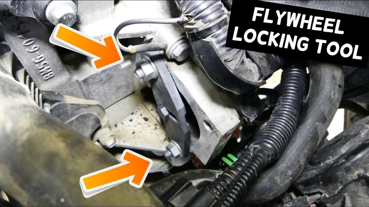 How To Use Flywheel Lock Tool On Ford Focus Fiesta Holding Tool