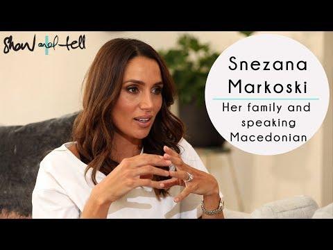 Snezana Markoski: On Her Family & Speaking Macedonian In Front Of People