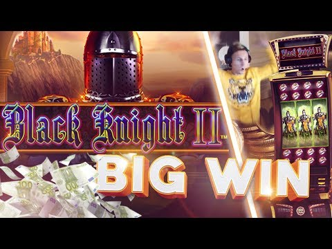 BIG WIN!!!! Black Knight 2 Big win - Casino - Bonus Round (Online Casino) - 동영상