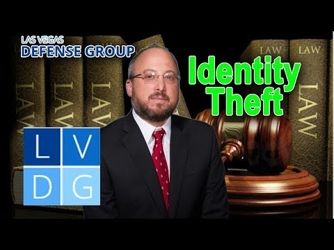Identity Theft in Nevada – 3 ways people go to jail