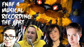FNaF: The Musical - Recording with Xander Mobus, Sarah Williams, AJ Pinkerton and NateWantsToBattle