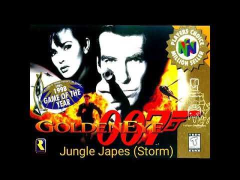 GoldenEye 64 Custom Music:DK64 Jungle Japes (Storm)